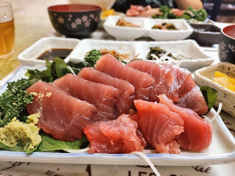 マグロ定食800円